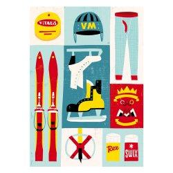 Kehvola Design / Timo Manttari [ Hokkari ] postcard