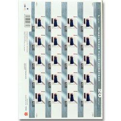 フィンランドの切手シート(2003年/イッタラ)