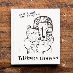 <img class='new_mark_img1' src='https://img.shop-pro.jp/img/new/icons48.gif' style='border:none;display:inline;margin:0px;padding:0px;width:auto;' />Cup Of Therapy / Antti Ervasti & Matti Pikkujamsa [ Tilkkanen Terapiaa ] サイン入り書籍