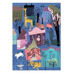 Kehvola Design / Marika Maijala [ Nightlife ] postcard