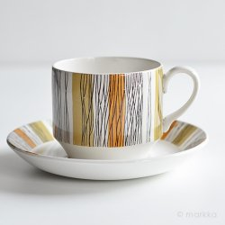 <img class='new_mark_img1' src='https://img.shop-pro.jp/img/new/icons48.gif' style='border:none;display:inline;margin:0px;padding:0px;width:auto;' />Midwinter / Jessie Tait [ SIENNA ] cup & saucer