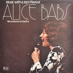 ALICE BABS / MUSIC WITH A JAZZ FLAVOUR - USED LP