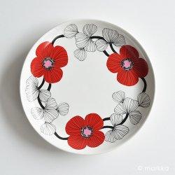 ARABIA / Esteri Tomula [ isokukka ] 17cm plate