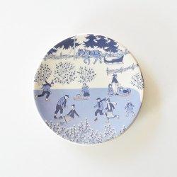 ARABIA / Raija Uosikkinen [ LUISTELIJAT / SKATERS ] wall plate