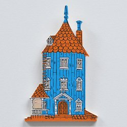 APRILMAI - ムーミンの木製マグネット(ムーミンハウス)