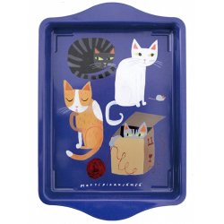 Matti Pikkujamsa - Tin tray (kissa)