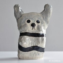 ceramics by Jenni Tuominen - Bunny 2018