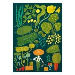 Kehvola Design / Sanna Mander [ Garden ] postcard