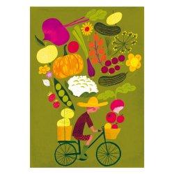Kehvola Design / Sanna Mander [ Harvest ] postcard