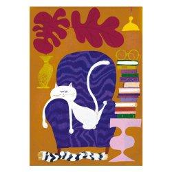 Kehvola Design / Sanna Mander [ Catnap ] postcard