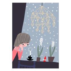 Kehvola Design / Marika Maijala [ Himmeli ] postcard