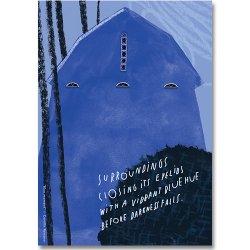 Camille Romano [ Blue moment ] postcard