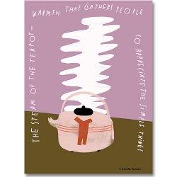 Camille Romano [ Steam ] postcard