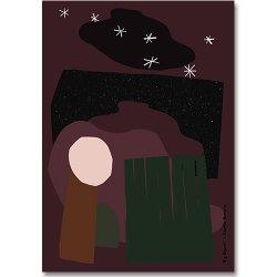 Camille Romano [ Big dipper ] postcard