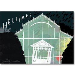 Camille Romano [ HELSINKI - Talvipuutarha Night ] postcard