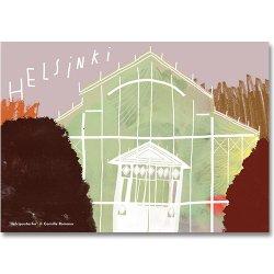 Camille Romano [ HELSINKI - Talvipuutarha Fall ] postcard