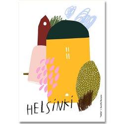 Camille Romano [ HELSINKI - Vallila ] postcard
