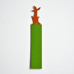 APRILMAI - ムーミンの木製ブックマーク(スニフ)
