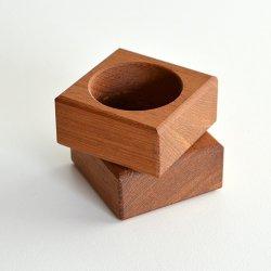 スウェーデン - チーク ナプキンリング 2個セット