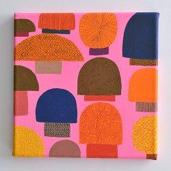 Matti Pikkujamsa [ Sieni - pink ] キャンバス画