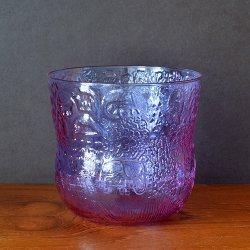 Nuutajarvi / Oiva Toikka [ Fauna ] punch bowl (H125mm/amethyst - neodyymi)