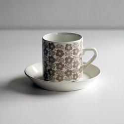 ARABIA / Raija Uosikkinen [ Rypale ] coffeecup & saucer