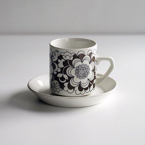 <img class='new_mark_img1' src='https://img.shop-pro.jp/img/new/icons16.gif' style='border:none;display:inline;margin:0px;padding:0px;width:auto;' /><30% OFF> ARABIA / Esteri Tomula [ Gardenia ] coffeecup & saucer