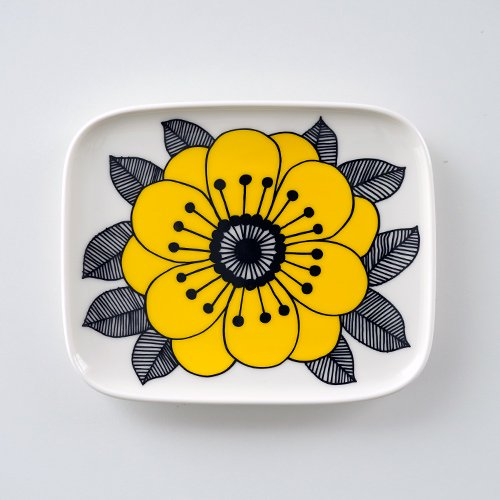 marimekko / Maija Louekari [ Kestit / for Stockmann 150 years ] square plate