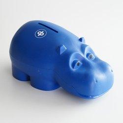 Osuuspankki [ HIPPO ] 貯金箱(ネイビー C)