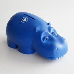 Osuuspankki [ HIPPO ] 貯金箱(ネイビー B)