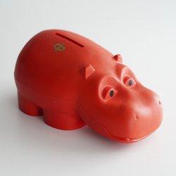 Osuuspankki [ HIPPO ] 貯金箱(レッド B)