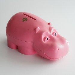 Osuuspankki [ HIPPO ] 貯金箱(ピンク A)