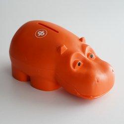 Osuuspankki [ HIPPO ] 貯金箱(オレンジ B)