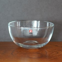 iittala / Kaj Franck [ TEEMA ] glass bowl 126mm