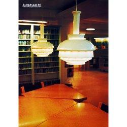 Alvar Aalto [ LAPIN MAAKUNTAKIRJASTO - ロヴァニエミ市立図書館 ] A3 poster (A)