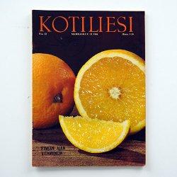 KOTILIESI - フィンランドの女性誌 - 1968年 No.22