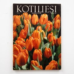 KOTILIESI - フィンランドの女性誌 - 1968年 No.8