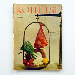KOTILIESI - フィンランドの女性誌 - 1968年 No.6