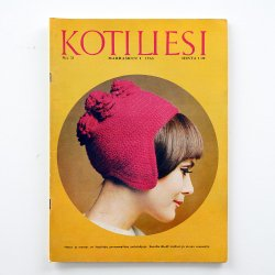 KOTILIESI - フィンランドの女性誌 - 1966年 No.21