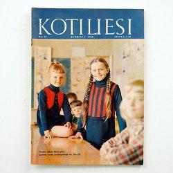 KOTILIESI - フィンランドの女性誌 - 1966年 No.15