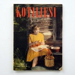 KOTILIESI - フィンランドの女性誌 - 1960年 No.16