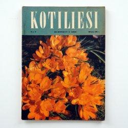 KOTILIESI - フィンランドの女性誌 - 1960年 No.7
