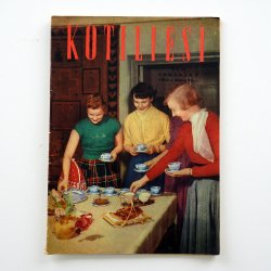KOTILIESI - フィンランドの女性誌 - 1959年 No.10