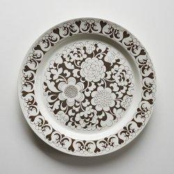 ARABIA / Esteri Tomula [ Gardenia ] 25.5cm plate