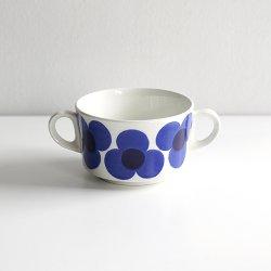 ARABIA / Esteri Tomula [ Aurinko ] sugar bowl (blue)