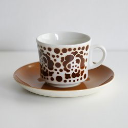 <img class='new_mark_img1' src='https://img.shop-pro.jp/img/new/icons48.gif' style='border:none;display:inline;margin:0px;padding:0px;width:auto;' />ARABIA [ stencil / BR-model ] cup & saucer