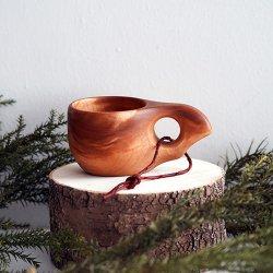 Wood Jewel Finland - ククサ (1つ穴/100ml)