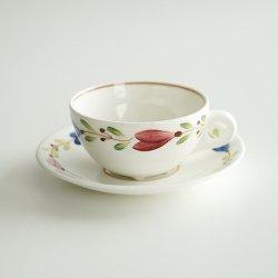 Gustavsberg / Stig Lindberg [ RANKA ] cup&saucer