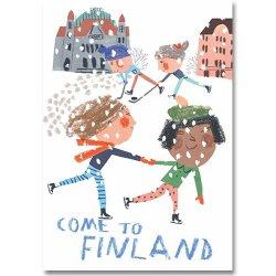 Come to Finland / Marika Maijala [ Come to Finland ] 大判ポストカード