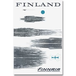 Come to Finland / Per-Olof Nystrom [ FINLAND FINNAIR ] 大判ポストカード
